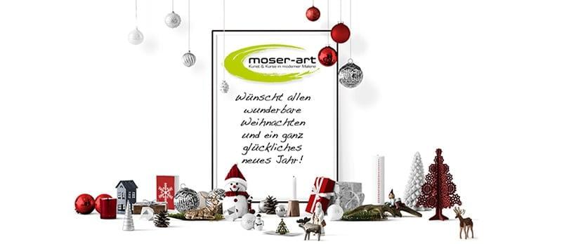 Frohe Weihnachten wünschen wir euch