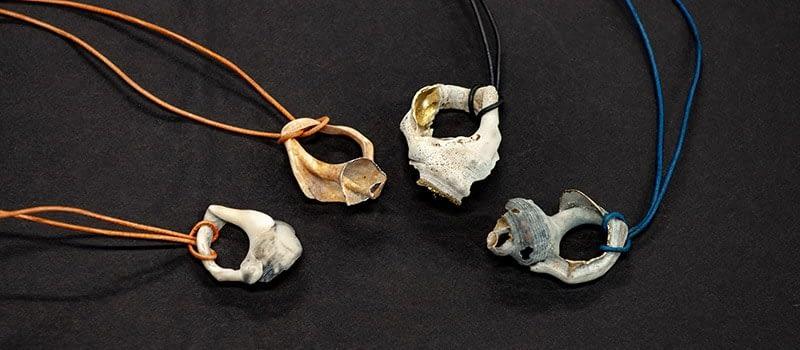 Veredelte Ketten aus Neuseeland-Muscheln