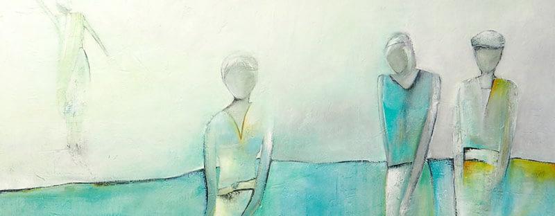 «Social Distancing» Bild 2 x 2 m