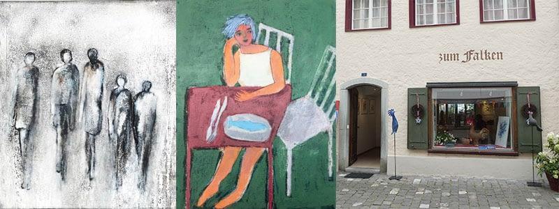 Ausstellung Renate Moser & Bea Merkel in Stein am Rhein