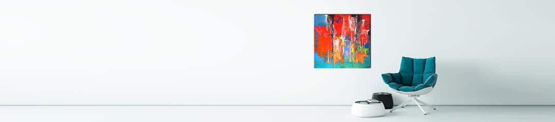 Beispiel Bild Acrylmalerei der Künstlerin Renate Moser
