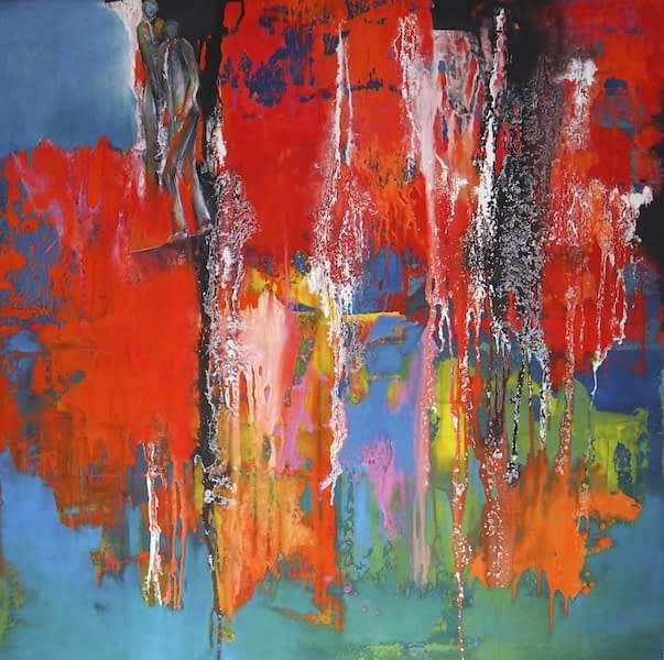 """Lebensweg"" von Renate Moser :: moser-art"
