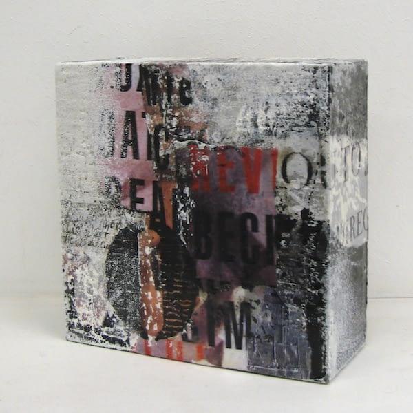 """Seitenansicht """"Letterbild Nr. 2"""" von Renate Moser :: moser-art"""