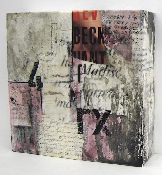 """Seitenansicht """"Letterbild Nr. 1"""" von Renate Moser :: moser-art"""