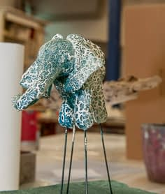 Malkurse moser-art | Aufbau des Elefanten aus dem Sommerkurs 2019