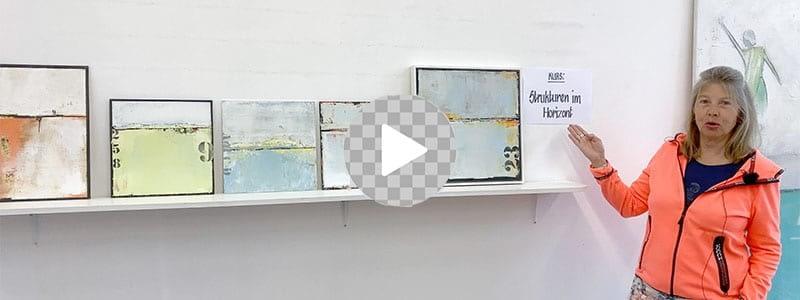 Video-Malkurs «Strukturen im Horizont» | moser-art
